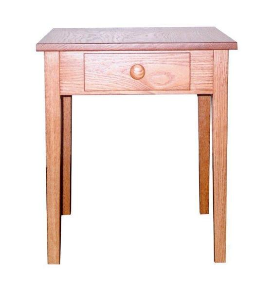 Amish Shaker End Table with Drawer