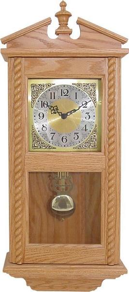 Wind-up Rope Amish Wall Clock