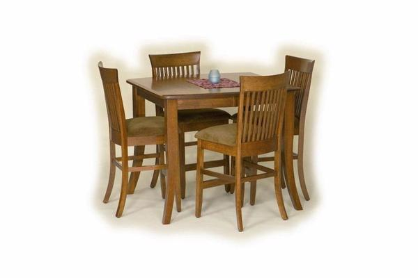 Amish Plantation Solid Wood Counter Height Table