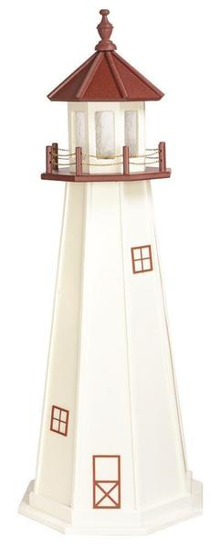Amish Marblehead Poly Garden Lighthouse
