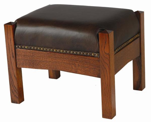 Amish Mission Footstool