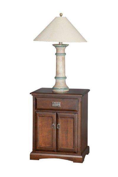 "Amish 22"" Night Stand With Doors"