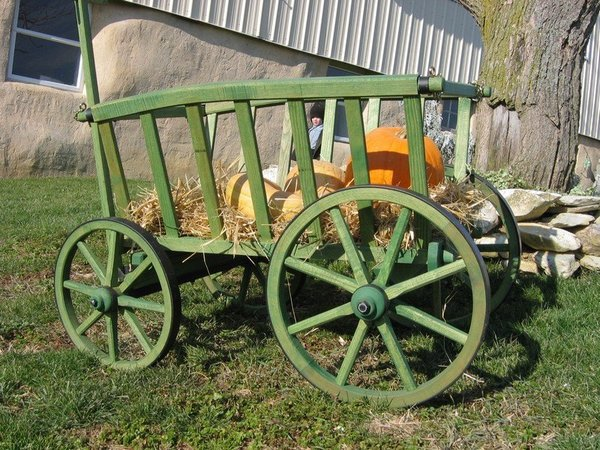 Amish Old Fashioned Goat Cart - Large Premium