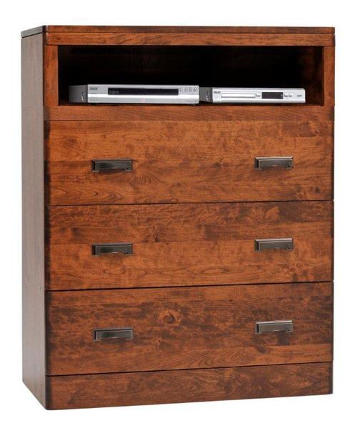 Amish Crossan Chest of Drawers with Opening