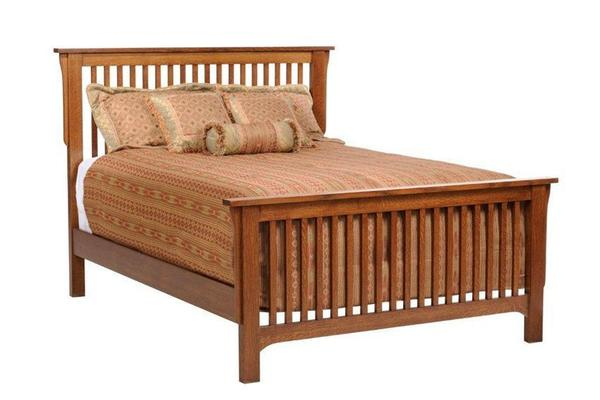 Amish San Juan Mission Slat Bed