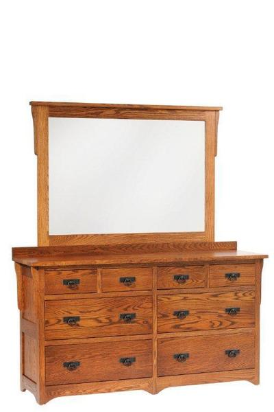 "Amish San Juan Mission 66"" Low Dresser"