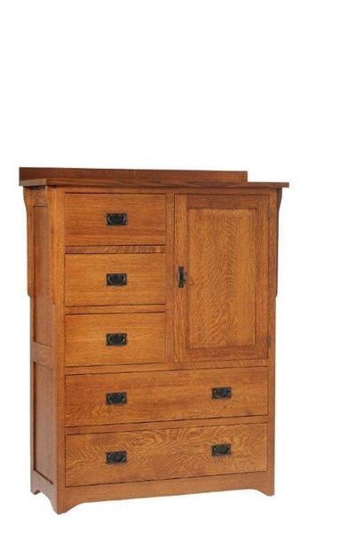 Amish San Juan Mission Style Chest of Drawers