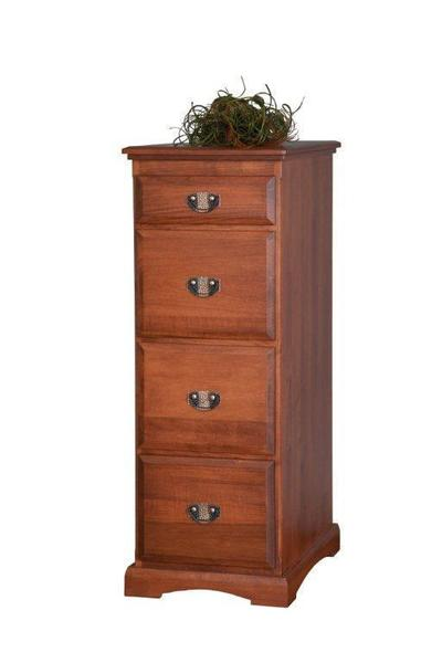 Amish Transitional Solid Wood File Cabinet