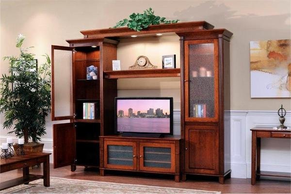 Ask Us A Question Amish Arlington Modular Entertainment Center