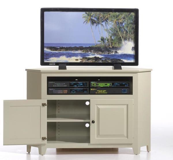 "Amish 34"" Economy Corner TV Stand - Quick Ship"