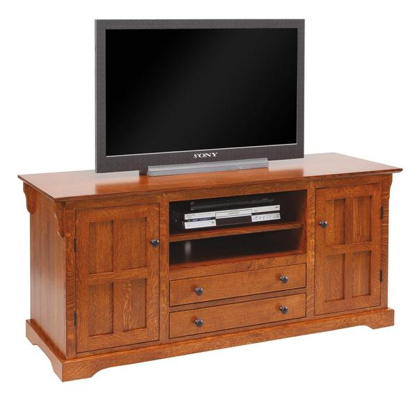 "Amish Super Storage 60"" TV Stand"