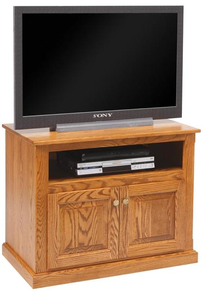 "Amish 36"" TV Stand with Doors"