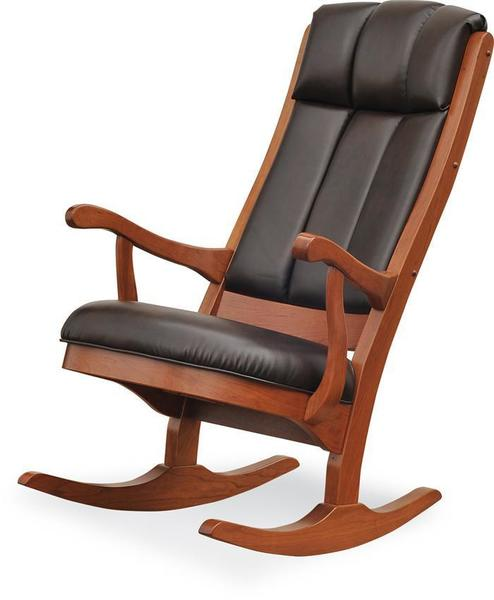 Amish Modern Upholstered Rocking Chair