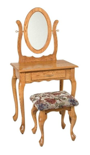 "Amish Oxford 29"" Dressing Table"