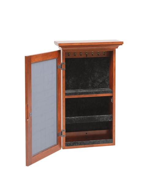 Amish Wall Mounted Jewelry Armoire