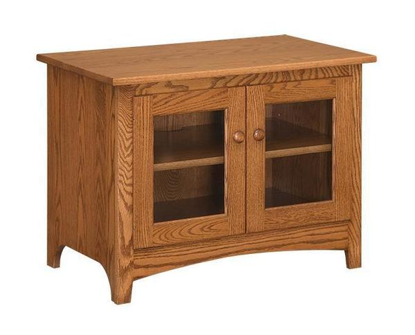 "Amish 36"" Shaker TV Stand With 2 Doors"