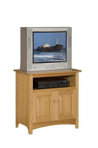 "Amish 36"" Shaker TV Stand with 6"" Opening"