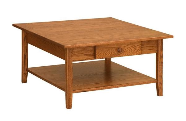 Amish Shaker Square Coffee Table