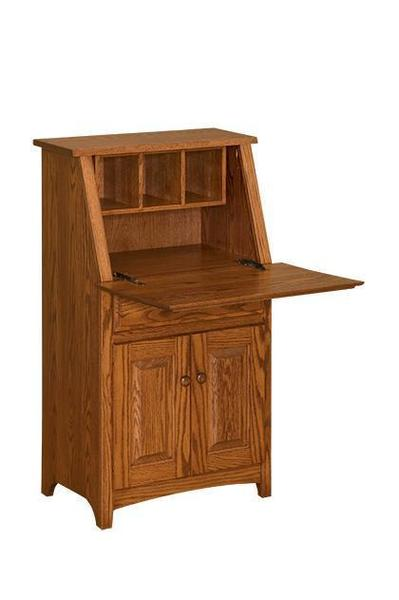 Amish Shaker Mini Secretary Desk