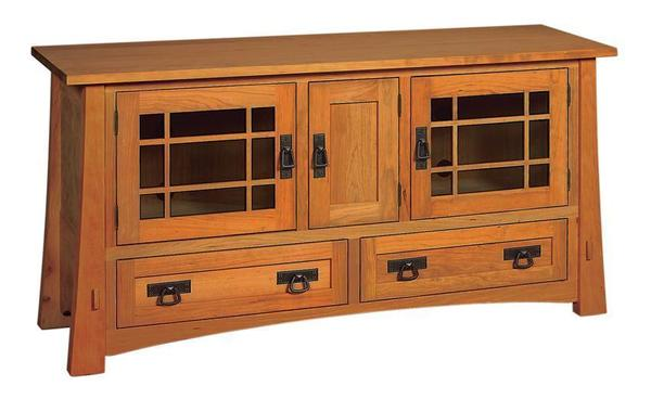 "Amish Montana Mission 60"" TV Stand"