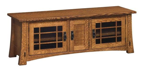 "Amish Montana Mission Style 60"" TV Stand"