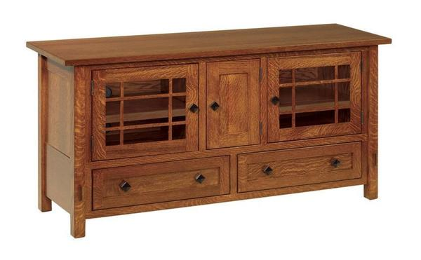 "Amish Lucern Mission 60"" TV Stand"
