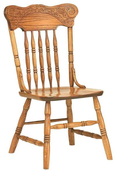 Spring Meadow Pressback Amish Dining Chair