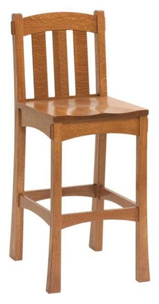 Amish Modesto Mission Bar Stool