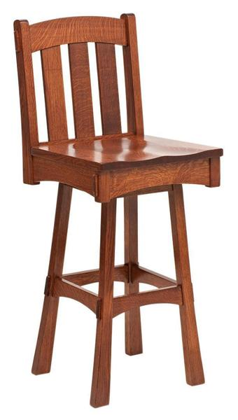 Modesto Mission Swivel Bar Stool