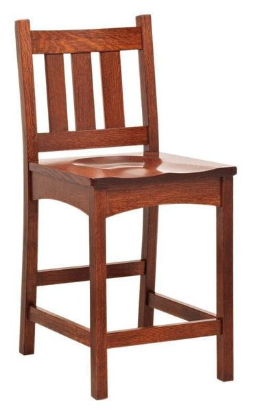 Amish Vintage Mission Bar Stool