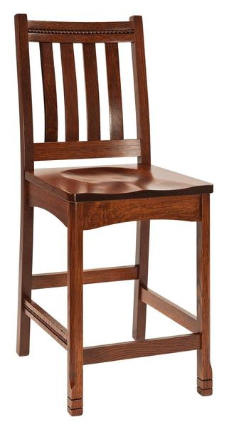 Amish West Lake Mission Bar Stool