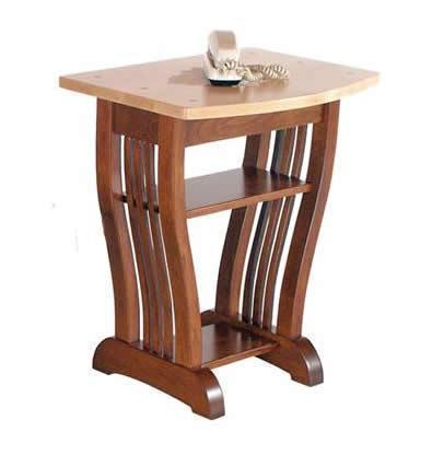 Amish Royal Mission Telephone End Table