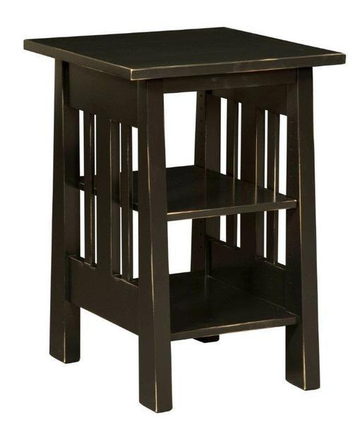 Amish Freemont Mission Printer Stand or End Table