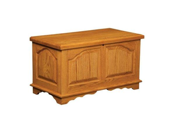 Amish Cathedral Hope Chest