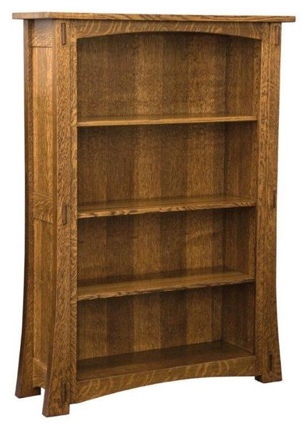 Amish Modesto Mission Bookcase - Choose from 6 Sizes