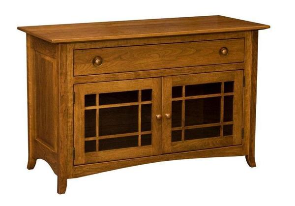 Amish Shaker Hill Credenza With Long Drawer