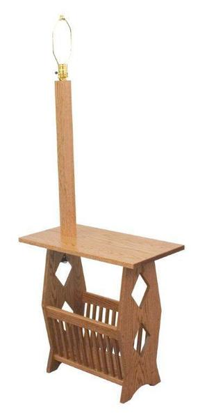 Ask Us A Question Amish Magazine Rack End Table