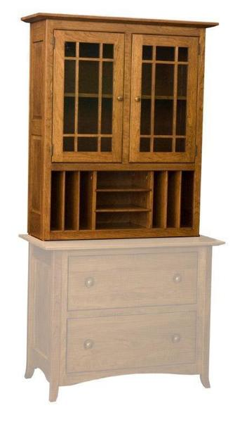 Shaker Hill File Cabinet Top File Cabinet Sold Separately