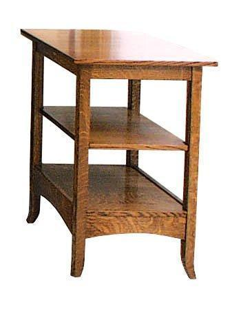 Amish Shaker Hill Printer Stand