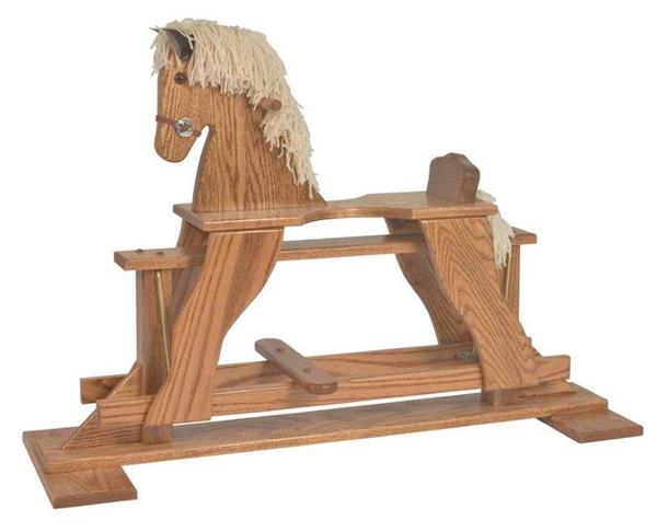 Amish Made Rocking Horse Glider