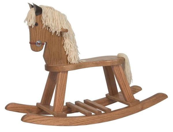 Amish Small Rocking Horse