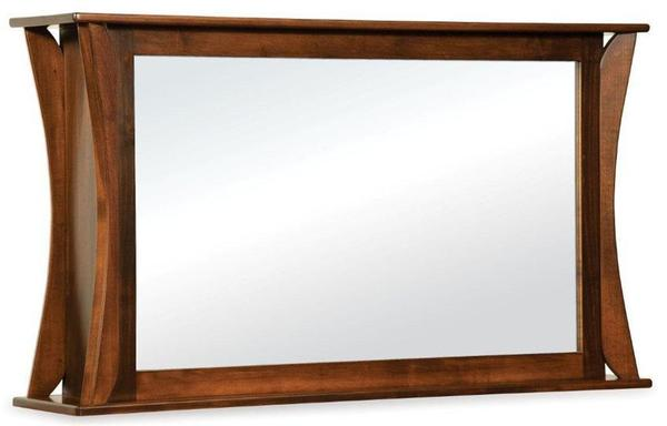 Amish Lakemont Shaker Two Way Mirror for Flat Screen TV