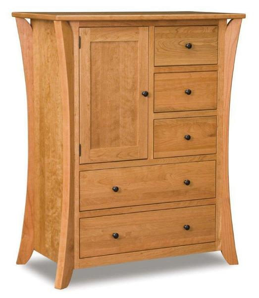 Amish Deluxe Caledonia Shaker Chest of Drawers