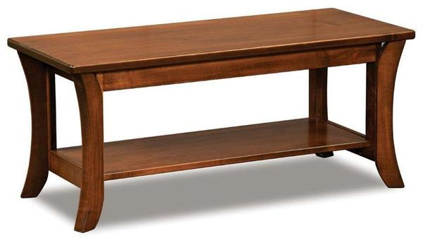 Amish Lakemont Shaker Bench