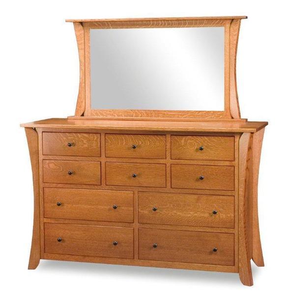Amish Caledonia Shaker Dresser