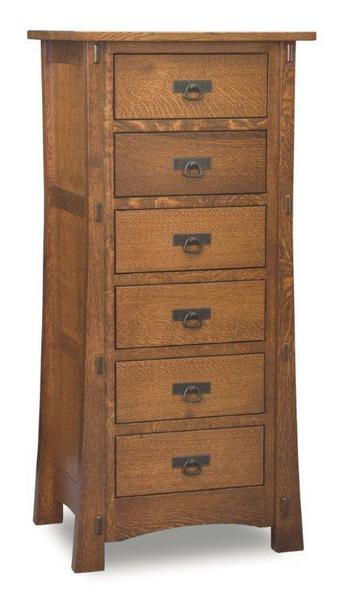 Amish Modesto Mission Lingerie Chest of Drawers