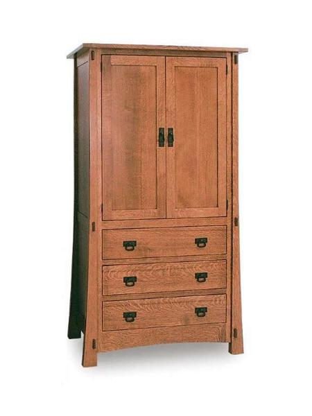 Amish Modesto Mission Armoire