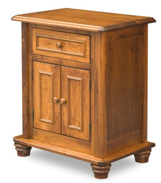 Woodberry Amish Nightstand with One Drawer