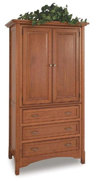 Amish West Lake Armoire