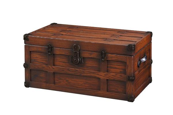Amish Benderson Solid Oak Wood Trunk